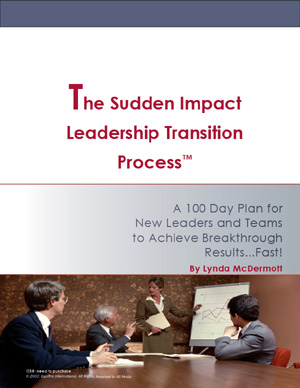 The Sudden Impact Leadership Transition Process